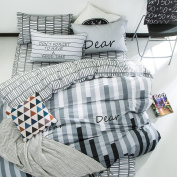 Cotton Activity Simple Single Bed Of Four Sets Of Fashion Personality Pure Cotton Printing Kits,Magicbeat-1.2