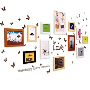 NAUY- set of 13 Photo Wall Photo Frame Wall Living Room Children Photo Wall Creative Wall Frame Combination