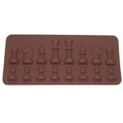 ODN International chess Chocolate Mould Cake Ice Cream Mould DIY Cake Fondant Moulds