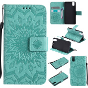 Huawei Honour 7i Case,BONROY® Huawei Honour 7i Mandala PU Leather Phone Holster Case, Flip Folio Book Case, Wallet Cover with Stand Function, Card Slots Money Pouch Protective Leather Wallet Case for Huawei Honour 7i