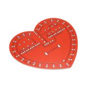 KKmoon Heart-shaped Flash LED Light DIY Kit 30 LEDs Beautiful Love Music Box Electronic Lighting Set