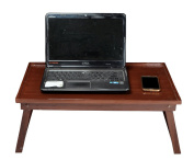 Laptop Bed Tray Wooden Folding Stand Lap Desk