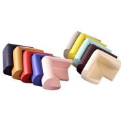 YeahiBaby 10pcs Anti-Collision Angle Table Corner L-Shaped Edge Protectors Guards for Baby Kids Protection