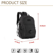Huntvp 40L Casual Backpack Military Tactical Rucksack Lager Waterproof Bags School Bag for Men Women School