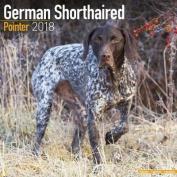 German Shorthaired Pointer Calendar 2018