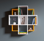 BLOOM Wall Shelf - Bookcase - Book shelf - Floating shelf for living room decoration in modern design