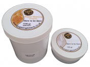 1100 grammes Sugaring Hair Removal Paste PLUS 100 grammes Unperfumed Talcum Powder - Medium Paste