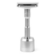 Quality Adjustable Double Edge Classic Safety Razor with Razor Stand, 1 Razor & 1 Stand