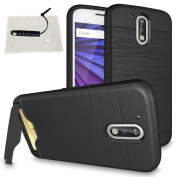 TOCASO Case Luxury SmartPhone Case for Lenovo Motorola Moto G4 / Moto G4 Plus Case Black, Transparent Cell Phone Cover Protective Shell for Motorola Moto G4 / Moto G4 Plus, Colourful Lightweight Soft Slim TPU Protective Cover Provide Full Body Protecti ..