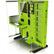 Thermaltake Core P5 Edition Mid Tower ATX Case with Acrylic Side Window - Green