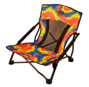 Crazy Creek Products Quad Beach/Festival Chair, Tie-Dye