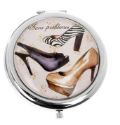 High Heel Shoes Compact Mirror