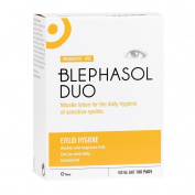 Blephasol Duo 100ml + 100 lint-free pads