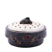 Family Expenses,Ceramics,Purple Incense Burner/Creative Aloes/ Aroma Pot