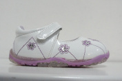 CHILDRENS/GIRLS CUTIE QT SHOES STYLE (Lilac/White) - H2213