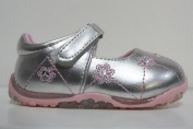 CHILDRENS/GIRLS CUTIE QT SHOES STYLE (Silver/Pink) - H2213