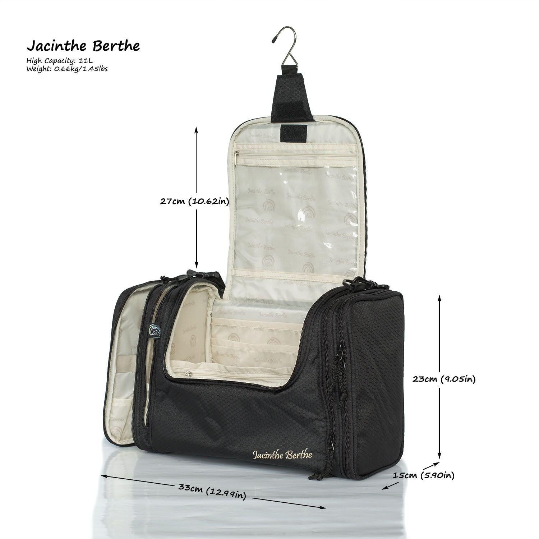 af33b7dfae Extra Large Travel Toiletry Bag   Portable Makeup Organiser  Water ...