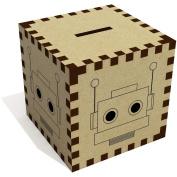 'Robot Head' Money Box / Piggy Bank