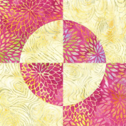 AccuQuilt Go! Fabric Cutting Dies-Drunkard's Path 10cm Finished Square, Other, Multicoloured