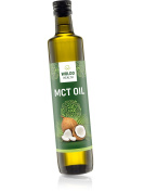 WoldoHealth MCT Oil C8 and C10 pure 100% coconut flavourless & odourless 500ml