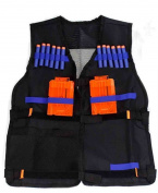 LVHERO Elite Tactical Vest Kit for Nerf N-strike Elite Series, Black