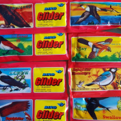 12 x POLYSTYRENE Aeroplane Birds 20 cm Toy Birthday/Party Bag