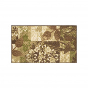Modern Living Leaves Decorative Area Accent Rug, 46cm by 80cm