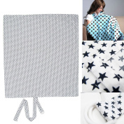 Breast Feeding Nursing Cover - Breast Feeding Nursing Cover with Soft Terry Burp Cloth Pockets