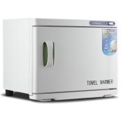 Bellavie 23L 2-in-1 Built-in UV Light Hot Facial Spa Towel Steriliser Cabinet Salon Warmer Heater