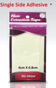 No Shine Single Side Adhesive Hair Extension tape tabs. 4cm X 0.8cm