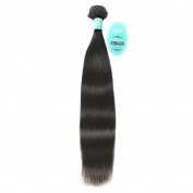 HmtAfro 100% Brazilian Hair 300 Gramme 8A Grade Straight Extensions Natural Colour