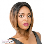 "it""s a Wig Soft and Silky Swiss Lace Front Wig - ABBY"