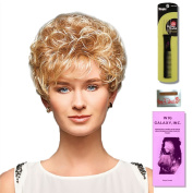 Leah by Henry Margu, Wig Galaxy Hair Loss Booklet & Magic Wig Styling Comb/Metal Pick Combo (Bundle - 3 Items), Colour Chosen