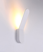 ZGW wall lamp Iron Wall Lamp Creative Personality Stairs Aisle Bedside LED Wall Lamp White Wall Mounted ligh