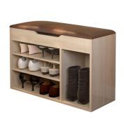 ALUK- European Locker For Shoe Stool Modern Simple Storage Stool Storage Hall Shoe (Length 80cm * Depth 30cm * Height 54)