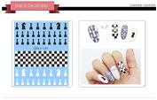 Nail Art Water Transfer Stickers Chess Nail Sticker Tattoo - FashionDancing