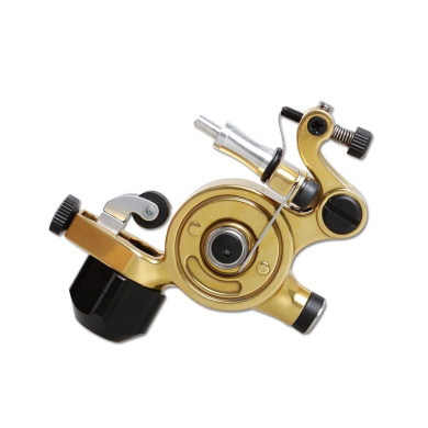 Dragonhawk Tattoo Rotary Tattoo Machine Airfoil Special Edtion Airfoil V4 for Tattoo Artists (Golden)