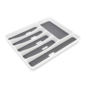 Relaxdays Cutlery Drawer Synthetic With 6 Compartments