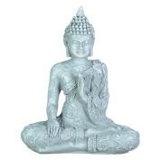 Zen' Light SBM1 grey stone meditation Buddha1 figurine 10 x 5 x 12 cm