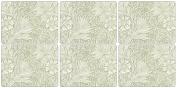 Pimpernel Marigold Green Placemats - Set of 6