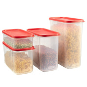 Rubbermaid 8-pc. Modular Food Canister Set