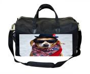 Patriotic Dog Nappy Bag