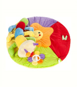 Cute Caterpillar Rack Crawling Pad Game Blanket, 0-3 Year Old Puzzle Multi-functional Toys