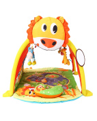 Tent Game House Rack Crawling Pad Game Blanket, 0-2 Year Old Puzzle Multi-functional Toys