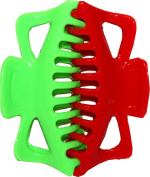 EXTRA LARGE SET OF 2 JAW CLIPS LIME AND RED