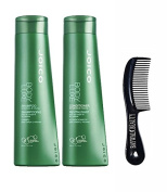 Joico Body Luxe Shampoo and Conditioner Duo 300ml with . Shower Comb