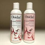 Ouidad ADANCED Climate Control Defrizzing Shampoo & Conditioner 250ml