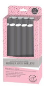 My Beauty Spot Professional Salon Quality Rubber Hair Rollers Grey