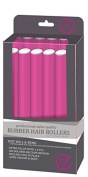 My Beauty Spot Professional Salon Quality Rubber Hair Rollers Pink
