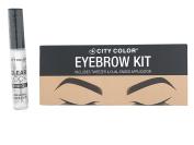 CITY colour Eyebrow Kit Palette & CITY colour Clear Lock Brow Gel - Clear